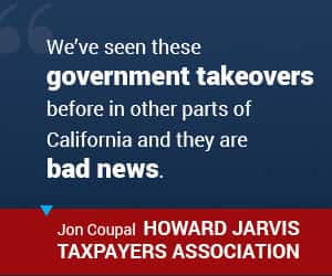 Jon Coupal on government takeovers